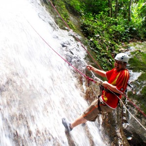 Waterfall-Repelling